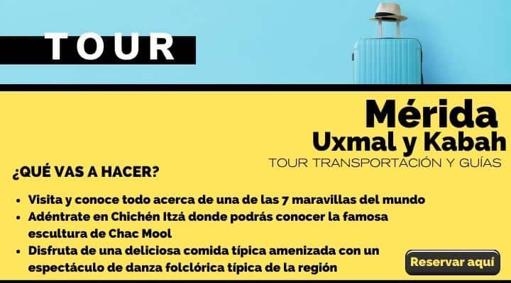 Tour Mérida, Uxmal y Kabah con planetario mayo. Arte El Souvenir