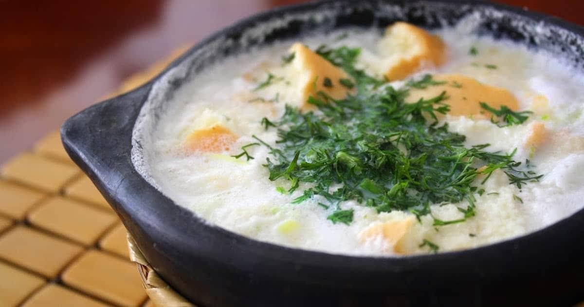 Desayuno colombiano. Tradicional changua. Foto: Boyaca Radio