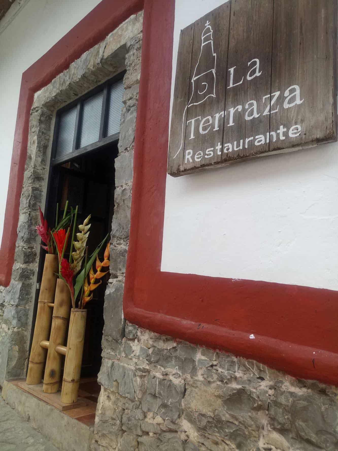 Donde comer en Cuetzalan Puebla. Restaurante La terraza. Foto: Cuetzalan Pueblo Mágico
