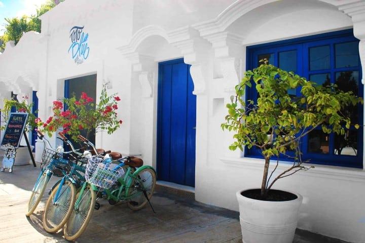 Donde hospedarse en Bacalar Foto Toto blue