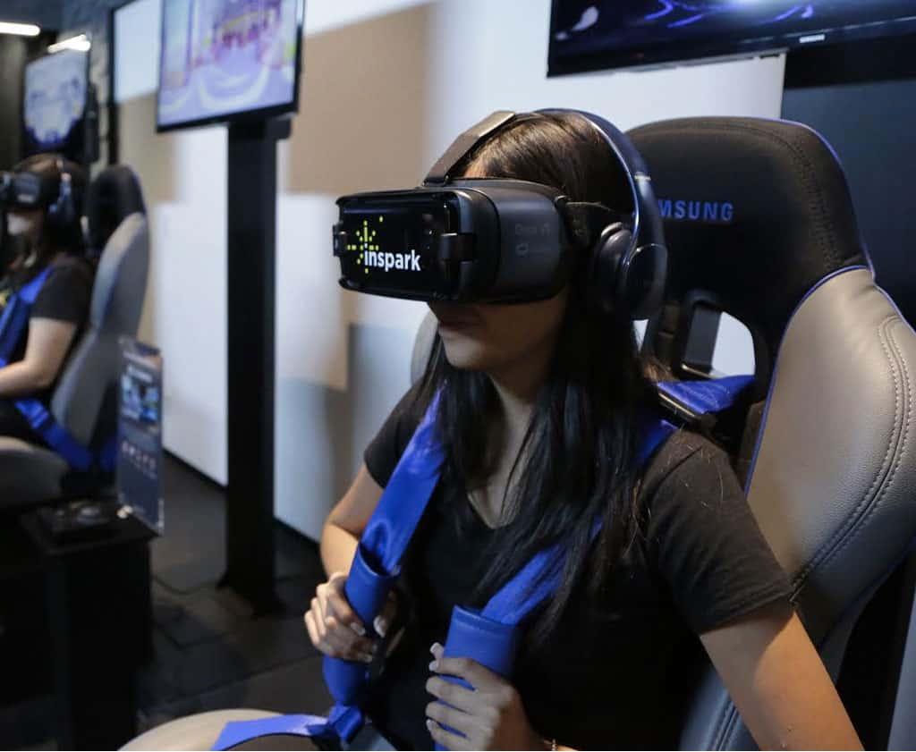 Inspark, realidad virtual. Foto: Donde ir