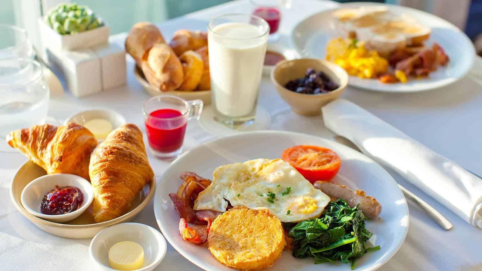 Desayunos en otros paises. Foto: El confidencial