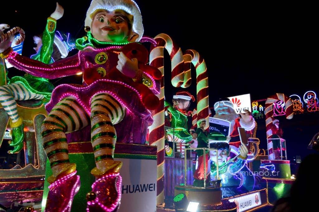 Festival de la Luz en Costa Rica. Foto: El mundo cr