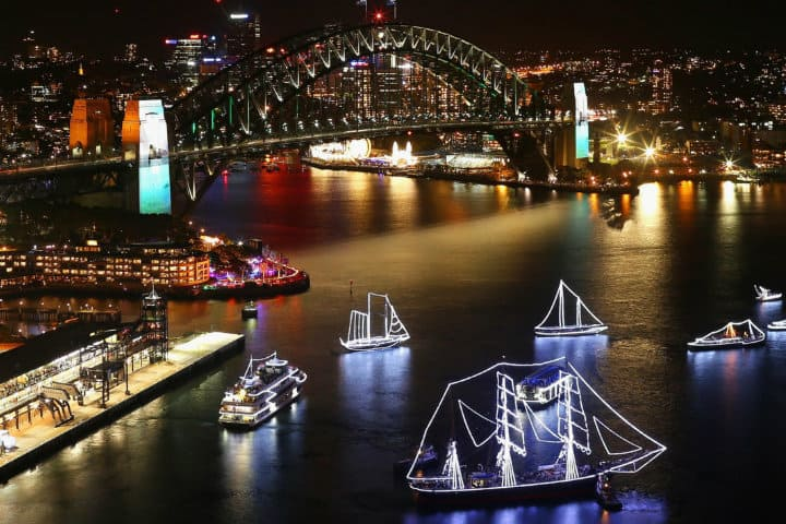 harbour of light sydney
