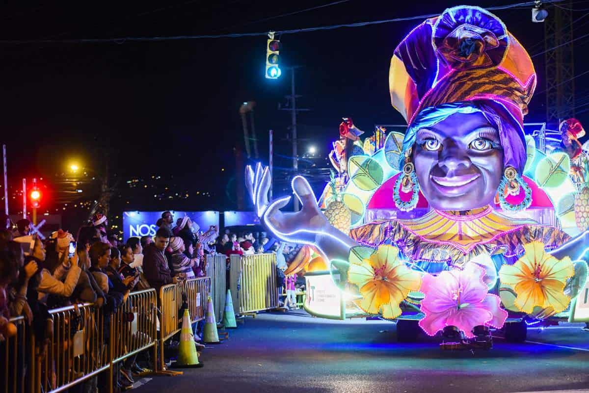 Festival de la Luz en Costa Rica. Foto: Hosteltur
