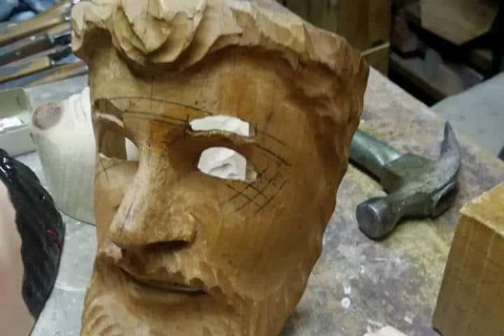 Máscaras de Huehues Tlaxcala Foto El Souvenir 14