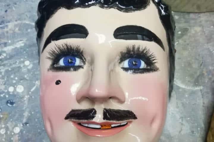 Máscaras de Huehues Tlaxcala Foto El Souvenir 16