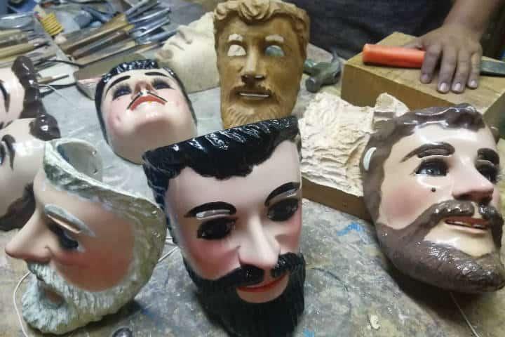 Máscaras de Huehues Tlaxcala Foto El Souvenir 18