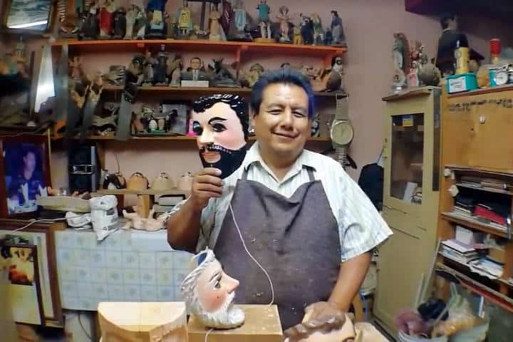Máscaras de Huehues Tlaxcala Foto El Souvenir 2
