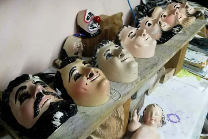 Máscaras de Huehues Tlaxcala Foto El Souvenir 33