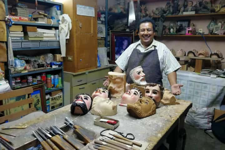 Máscaras de Huehues Tlaxcala Foto El Souvenir 38