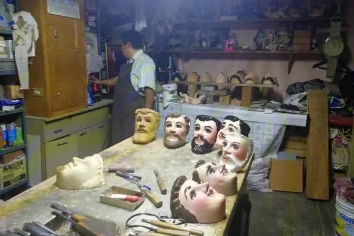 Máscaras de Huehues Tlaxcala Foto El Souvenir 4