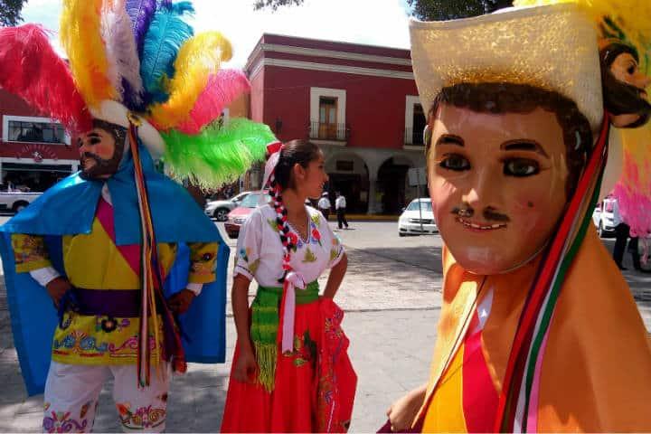 Máscaras de Huehues Tlaxcala Foto El Souvenir 47