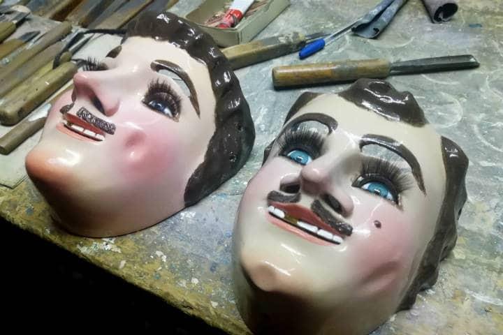 Máscaras de Huehues Tlaxcala Foto El Souvenir 5