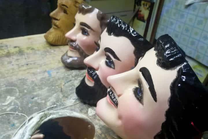 Máscaras de Huehues Tlaxcala Foto El Souvenir 6