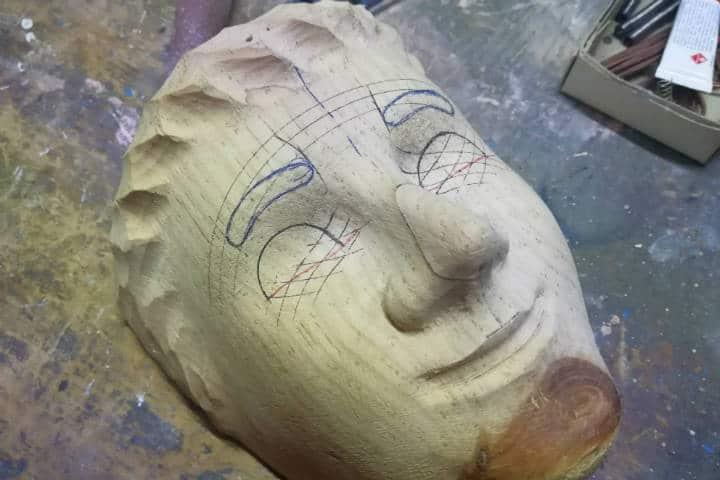 Máscaras de Huehues Tlaxcala Foto El Souvenir 9