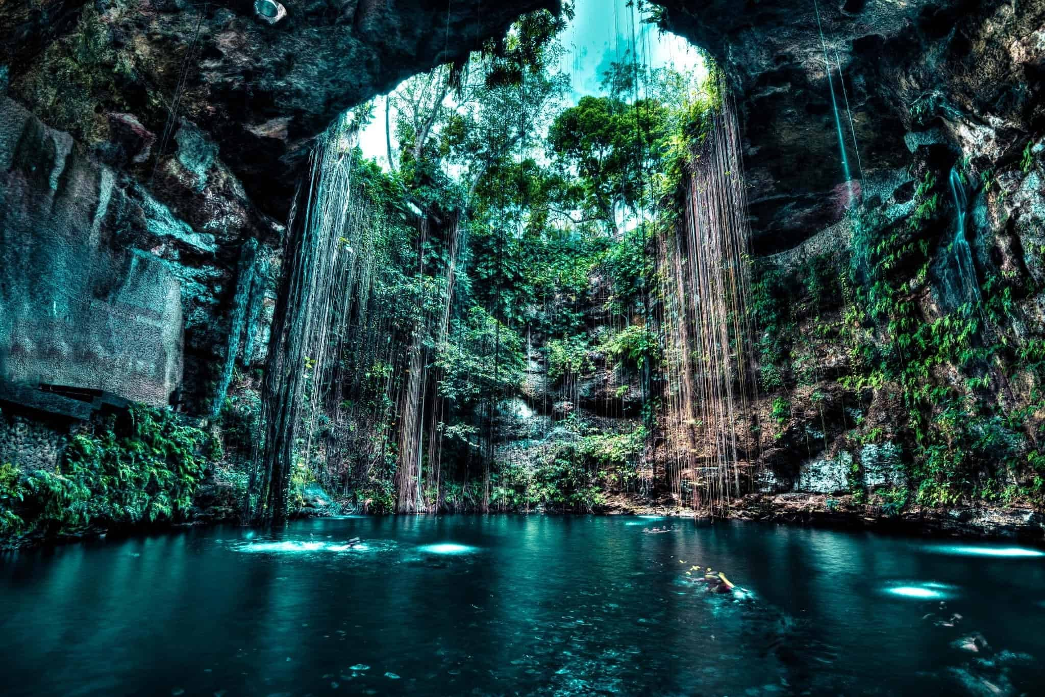 Cenotes en Yucatan. Foto: Mas Mexico