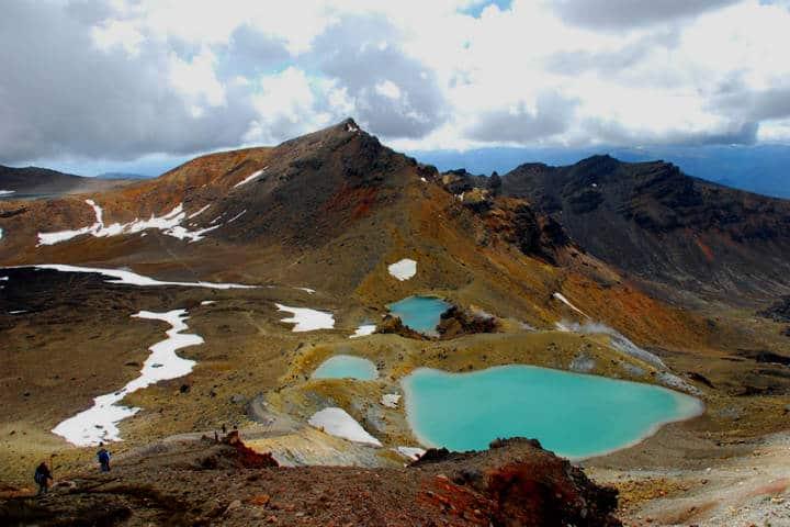 Parque Nacional Tongariro. Foto Heike Quosdorf