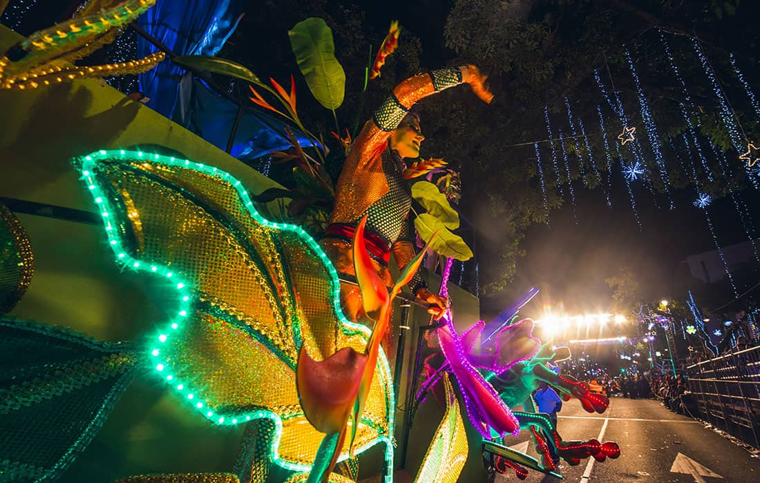 Espectacular festival de La Luz. Foto: Revista de viajes Magellan