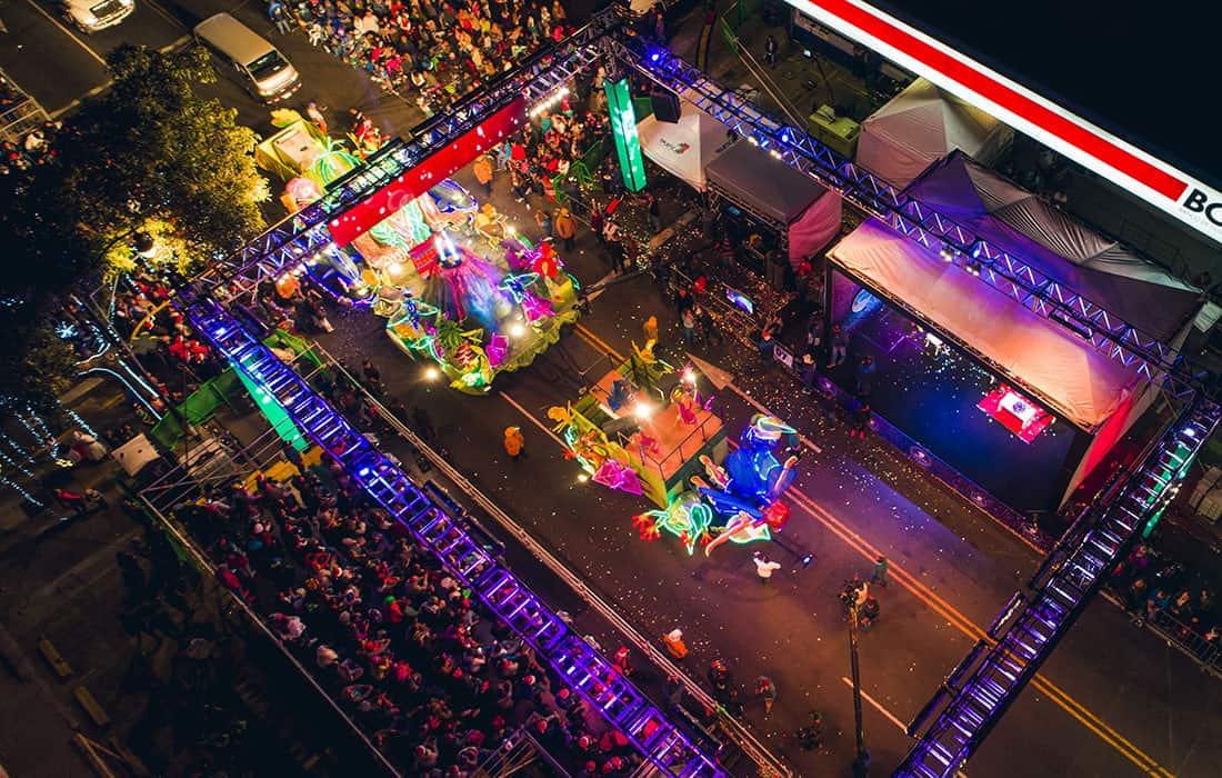 Festival de La Luz. Foto: Revista de viajes Magellan
