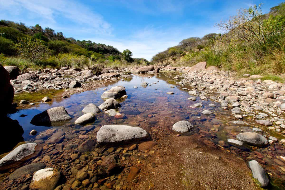 Cerca de Haciendas de Salamanca Guanajuato. Cuenca de Temazcatio. Foto: Sría. de Medio Ambiente y Ordenamiento Territorial