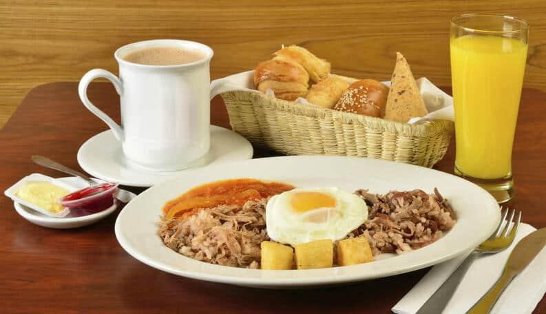 Desayunos en el mundo en una sola imagen