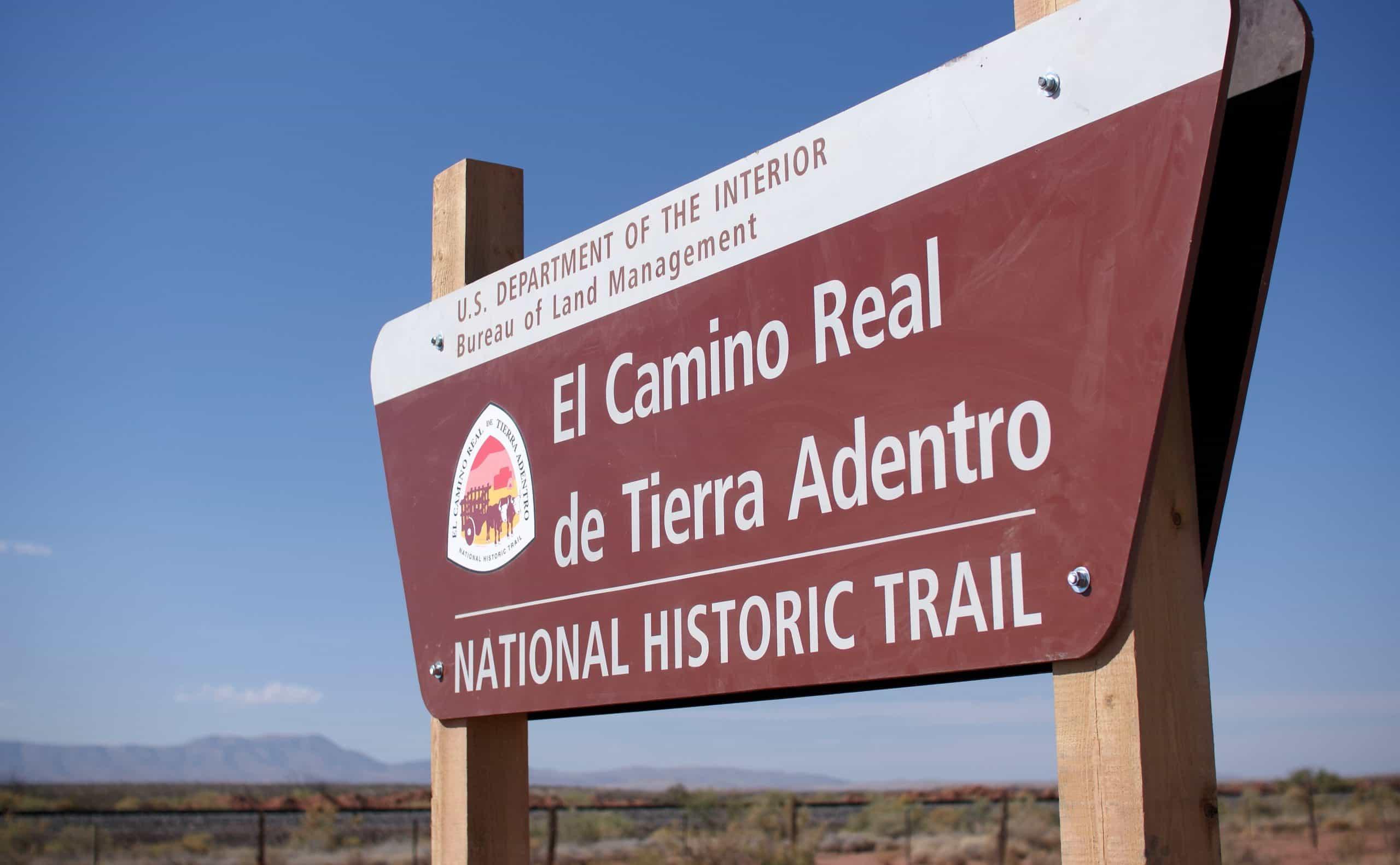 Camino real de Tierra Adentro. Foto: Wikiwand