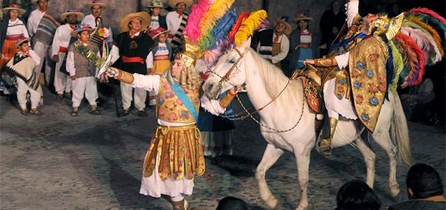 Pastorela en Tepotzotlan. Foto: Zona Turistica