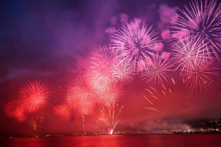 fuegos artificiales acapulco