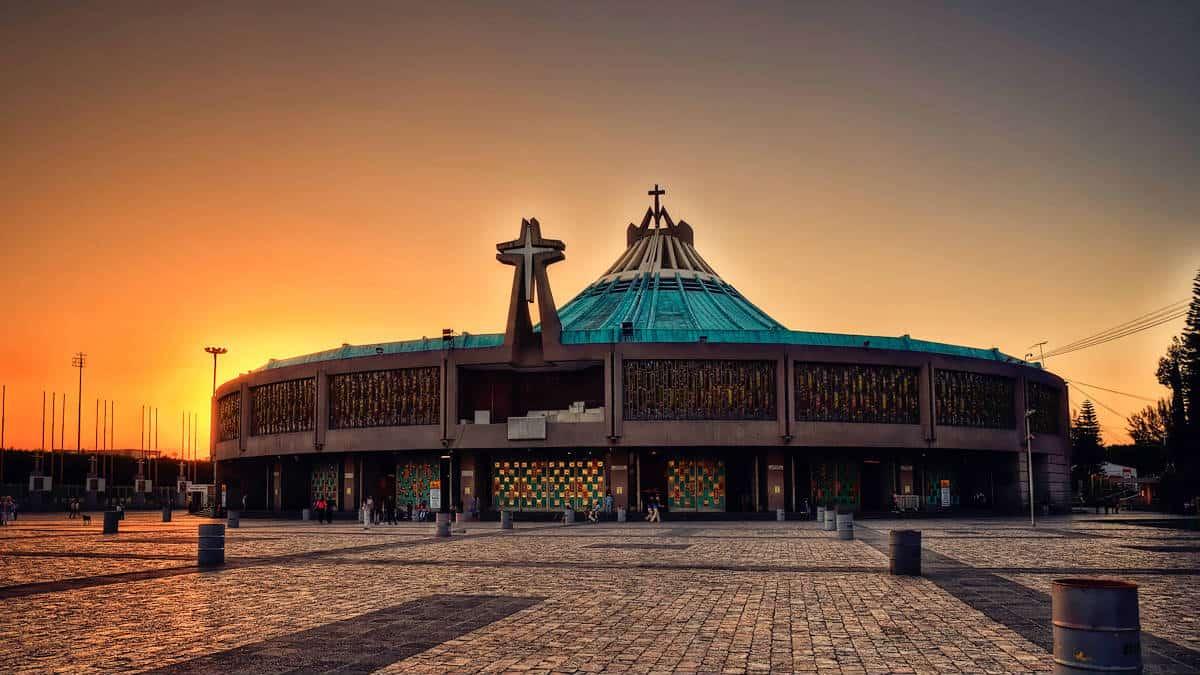 Donde comer en la basilica de Guadalupe. Imagen: CDMX. Archivo