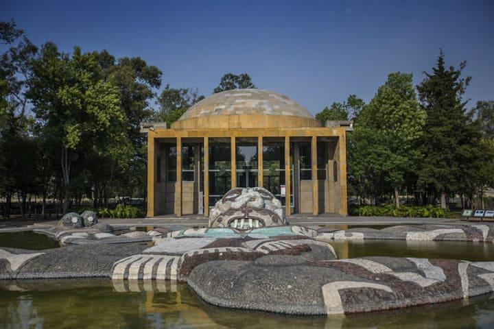 qué hacer en Cárcamo de Dolores Chapultepec. Foto Gobierno de Mexico
