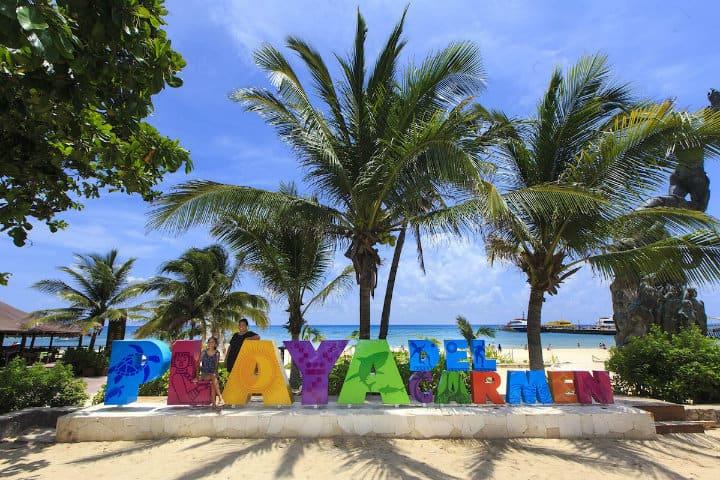 letras playa del carmen
