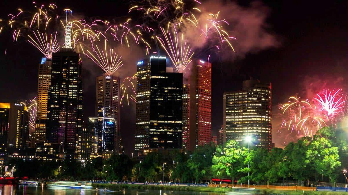 Año nuevo Melbourne
