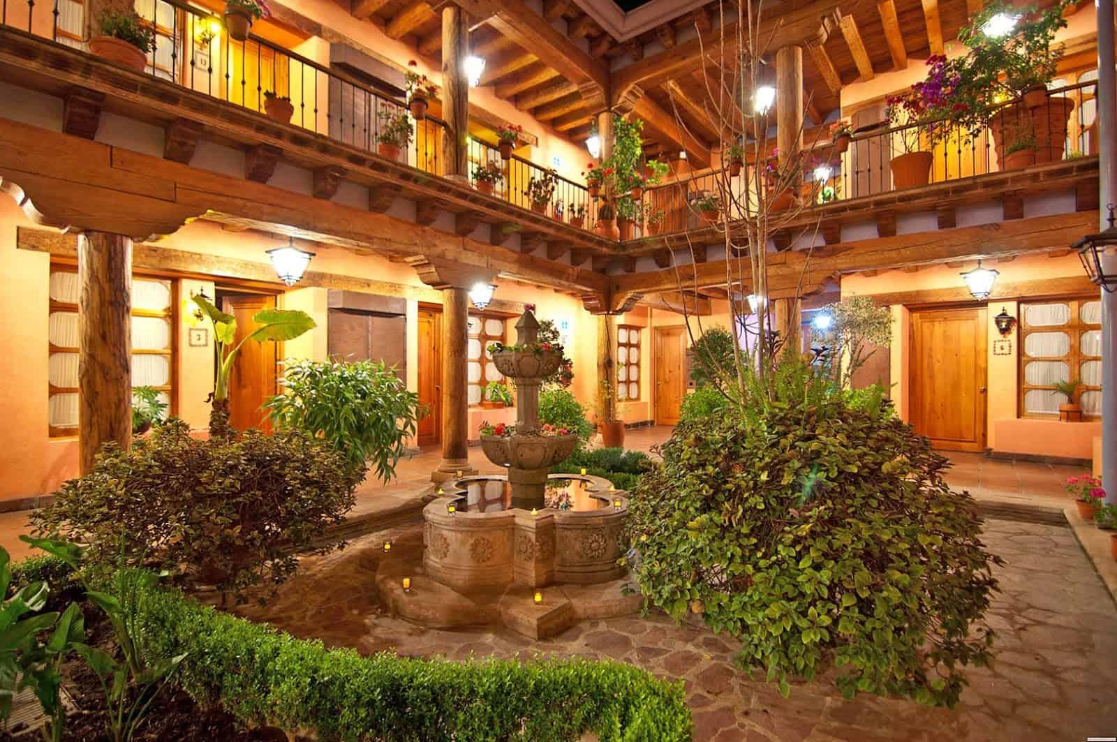 hotel la parroquia patzcuaro