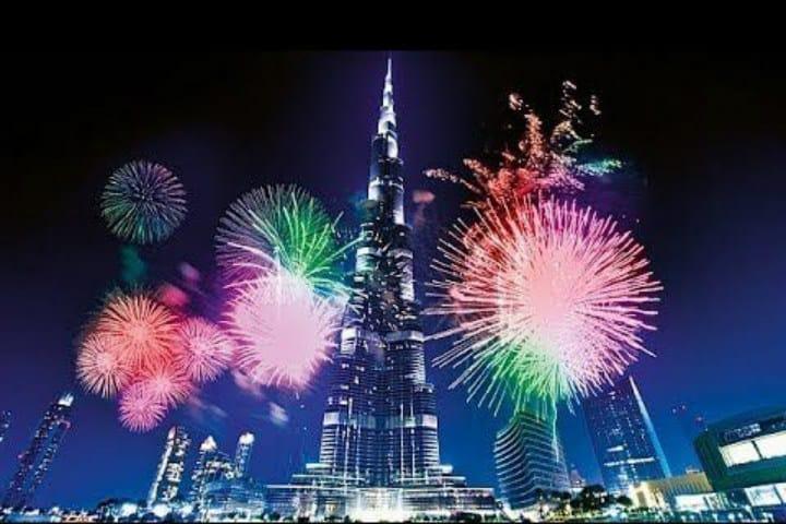 Año Nuevo en Dubái. Foto Pinterest