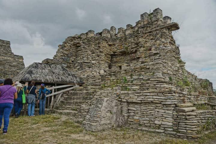 el templo del monstruo de la tierra. Foto José De Jesús Martínez