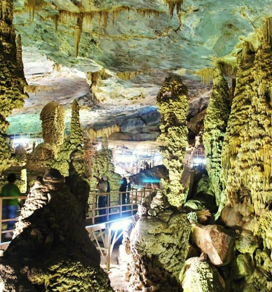 grutas de palmito