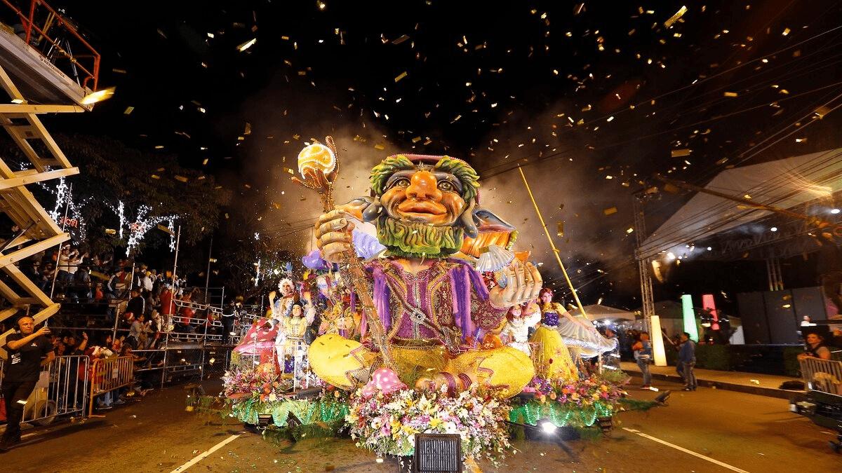 Festival de la Luz. Foto: La Nación