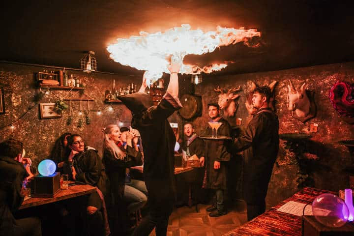 Magical Cocktail Experience. Imagen: Inglaterra. Archivo