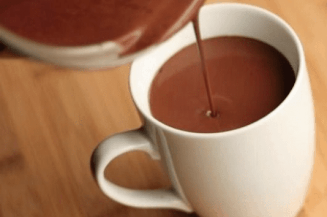 Bebidas calientes para el frío