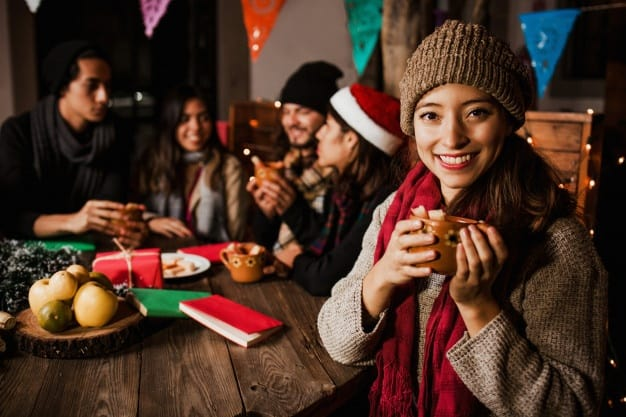 Tomar ponche en navidad es la mejor tradición. Foto: Marcosecastillo