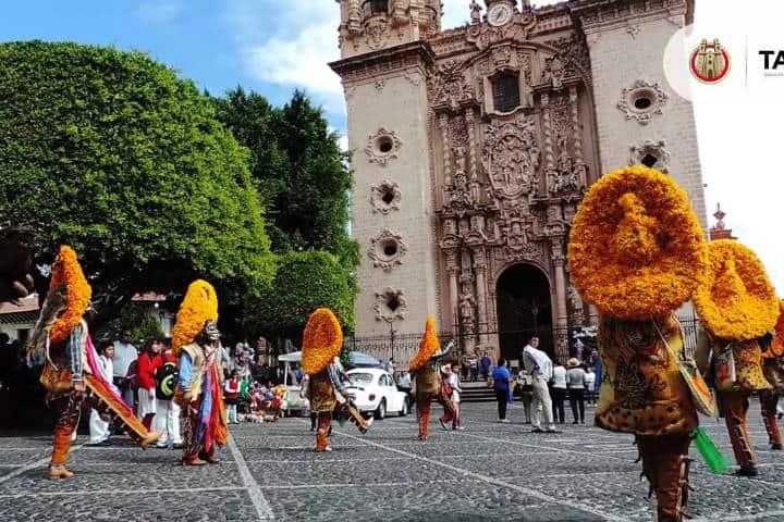 Festividades de Taxco. Imagen: Guerrero. Archivo