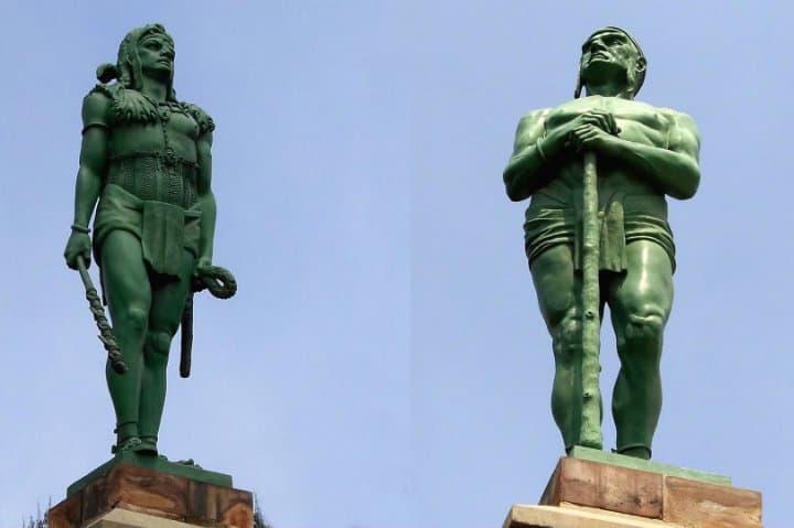 indios verdes monumento