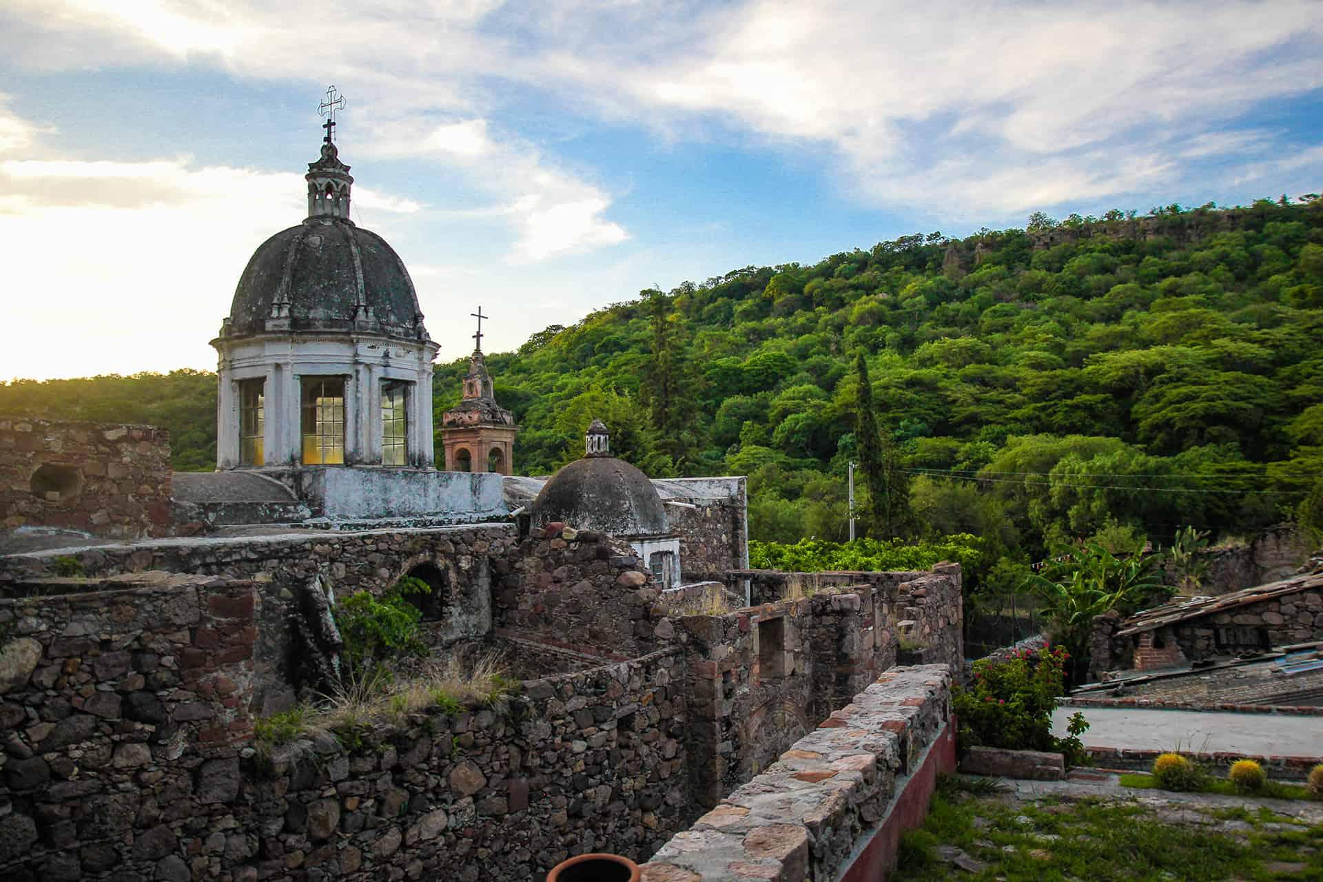 Haciendas en Salamanca Guanajuato. Haicienda Cañada de Ortega. Foto: Salamanca