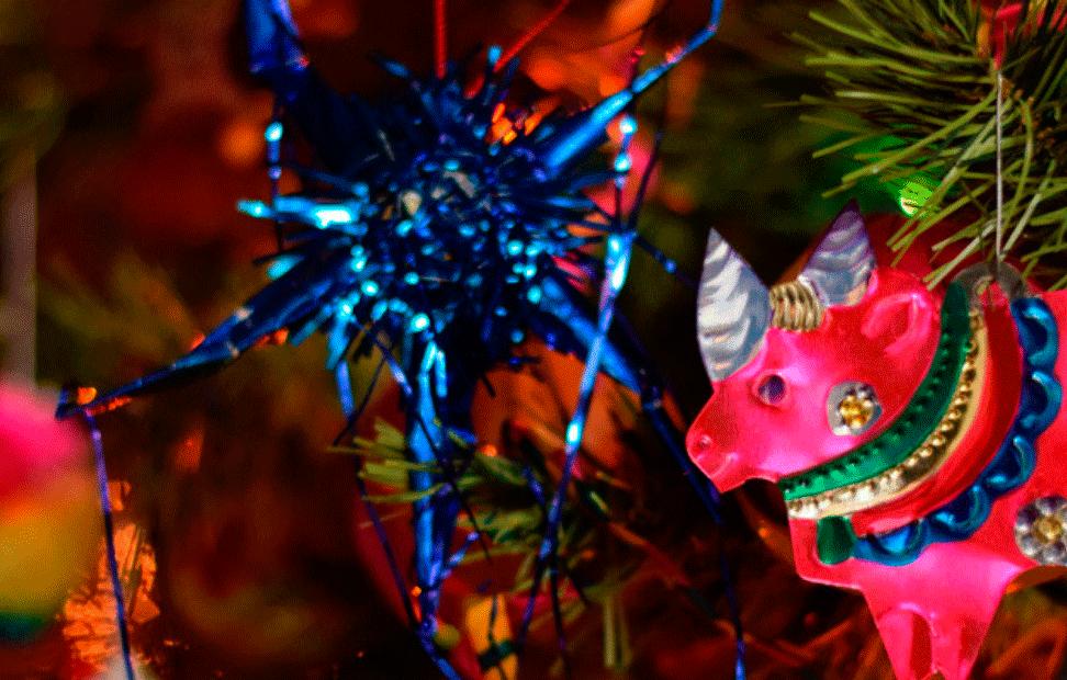 Época navideña en México. Foto: Tacoguru blog