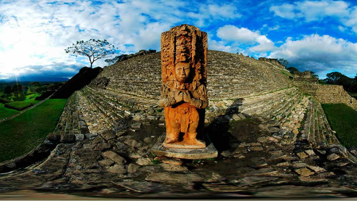 Zona arqueologica de Tonina. Imagen: Chiapas. Archivo