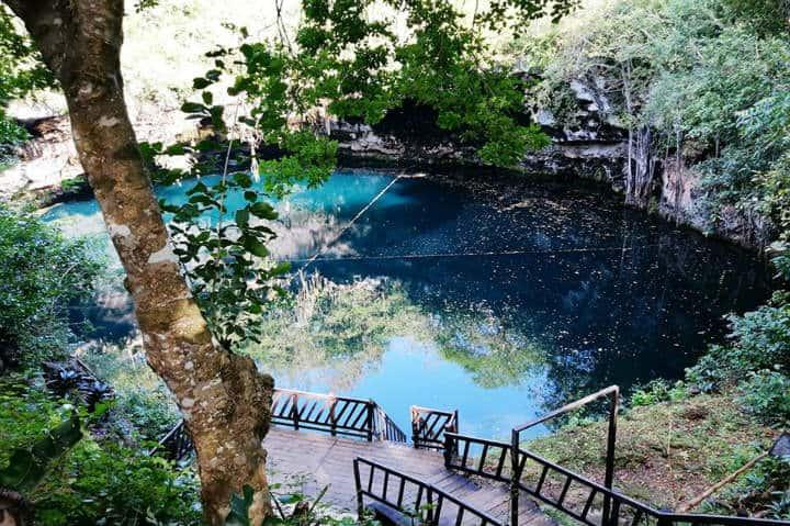 Cenote kikil Foto Cenote Kikil