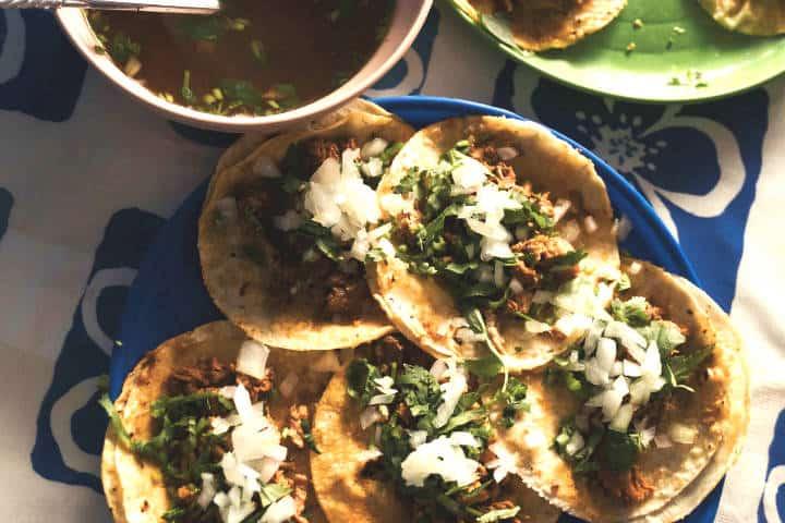 Comida de calle en Guadalajara. Foto: Diego Lozano
