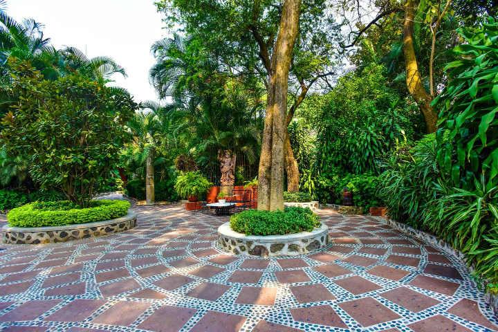 Jardín. Foto: Hotel & Spa Hacienda de Cortes Cuernavaca