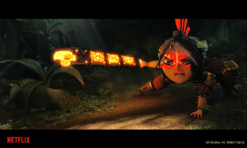 Maya and the Three Foto Little Big Animation